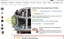 Was Looking Up Lego Sets When I Saw This Review Of The Lego Star Wars Death