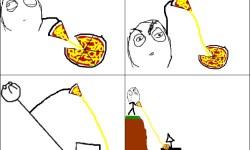 meme comics pizza | Wenn ich Pizza esse – fu bilder, Englische Rage Comics und M…