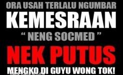 Kata Kata Lucu Bahasa Jawa Kasar Terbaik Dp Bbm Kata Kata Lucu Bahasa Jawa Timur
