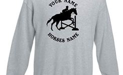 Kids Funny Horse Riding Dressage Jumping Personalised Jumper Ages   Various