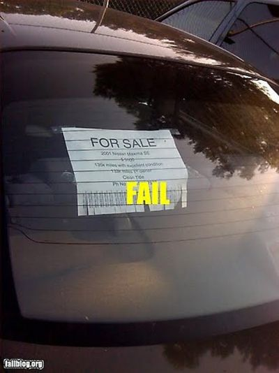 Funny Car For Sale Signs : funny, signs, Funny, Signs, Sekali, Ketawa