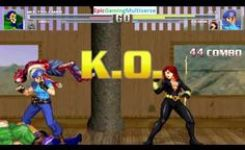 Zombies And Multiple Man Vs Jill Valentine And Black Widow In A Mugen Match Battle
