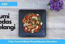 Cara Memasak Resep Masakan Indonesia – Cumi Pedas Pelangi