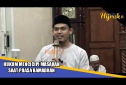 Cara Memasak Hukum Mencicipi Masakan Saat Puasa Ramadhan , Dr.Arrazy_Hasyim
