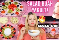Cara Memasak COOKING WITH TASYI : EP 12 – RESEP SALAD BUAH YAKULT – TERENAK !!! + ASMR