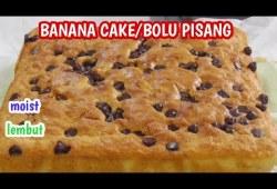 Cara Memasak Resep Bolu Pisang Tanpa SP, banana cake lembut dan Enak