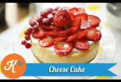 Cara Memasak Resep Kue Keju Stroberi (Strawberry Cheese Cake Recipe Video) | JANE SUSANTO