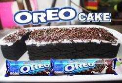 Cara Memasak Cara Membuat Kue Sederhana Dari Oreo dan Susu (Oreo Cake)