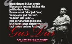 Kata Kata Mutiara Gus Dur Abdulrahman Wahid