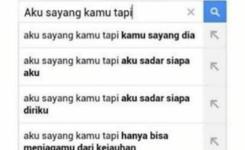 Google Orange And Indonesian Language Google Aku Sayang Kamu Tapi Aku