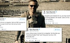 Ryan Reynolds Tweets The Funniest Things About His Daughter Screengrab Blakelively Twitter Vancityreynolds