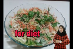 Cara Memasak Resep salad tuna dengan sayuran/Tuna salad receipe