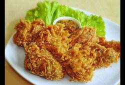 Cara Memasak Resep Ayam Goreng Tepung Wijen