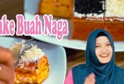 Cara Memasak Resep Membuat Cake Buah Naga Oven Lembut  # Edisi Bulan Ramadhan 2018