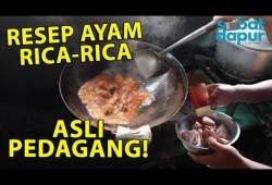 Cara Memasak Resep ayam rica-rica asli pedagang