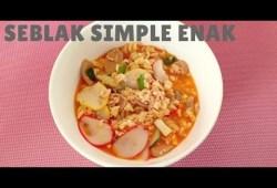 Cara Memasak RESEP SEBLAK SEDERHANA PASTI BISA  !! Resep Masakan indonesia sehari hari