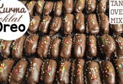 Cara Memasak Resep kurma coklat oreo special lebaran CUMA 3 BAHAN SAJA..!!!