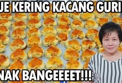 Cara Memasak Resep : Kue Kering Kacang Rasanya Gurih,Kering,Enaaaak Bangeeeet!!!