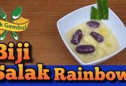Cara Memasak Resep Buka Puasa: Cara membuat kolak biji salak rainbow