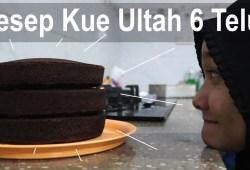 Cara Memasak Resep Kue Bolu Ultah 6 Telur, Tiga Jenis Loyang