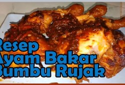 Cara Memasak Resep Ayam Panggang Teflon Bumbu Rujak