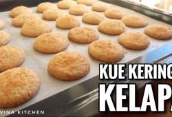 Cara Memasak KUE KERING KELAPA | COCONUT COOKIES | KUE LEBARAN