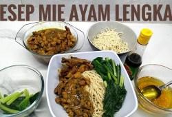 Cara Memasak Resep mie ayam lengkap