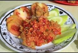 Cara Memasak Ayam geprek krispy sambel bawang