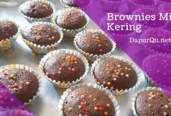 Cara Memasak Resep Brownies Mini Kering – kue kering lebaran Brownies Kering