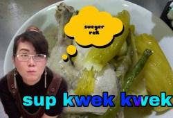 Cara Memasak Sup bebek, resep sup bebek chiness food, bebek tung