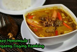 Cara Memasak Resep Tongseng Daging Kambing Empuk & Tanpa Bau Amis