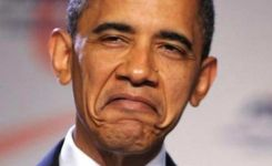 Funny Faces Of Obama