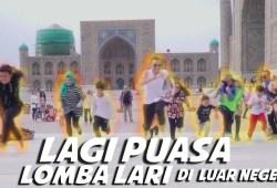 Video Ramadhan: Di Luar Negri Lagi Puasa Lomba Lari Yang Kalah Minta Nomor Cewek