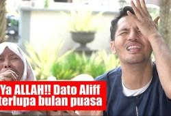 Video Ramadhan: Ya ALLAH!! Dato Aliff terlupa bulan puasa – Tv Terlajak Laris