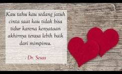 Kata Kata Bijak Tentang Jatuh Cinta