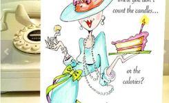 Funny Birthday Card Funny Women Humor Greeting Cards For Her Women Humor Funny Women Cards Funny Birthday