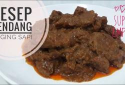 Cara Memasak Resep Masak Rendang Daging Sapi Super Empuk dan Enak