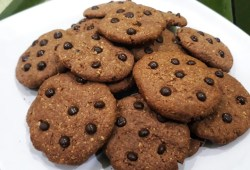 Cara Memasak Oatmeal Cookies Lembut dan Renyah | Resep Kue Kering Oatmeal | Cara Mudah Membuat Oatmeal Chocochip