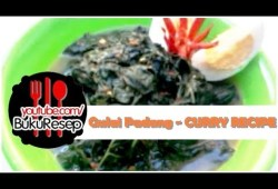Cara Memasak Resep Masakan Padang Gulai Daun Singkong – Curry Recipe Indonesian Food Recipes