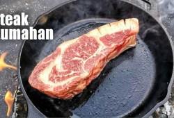 Cara Memasak Tutorial Cara Membuat Steak Kambing Saus Tiram Di Rumah || Kitchen Home