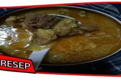 Cara Memasak Resep Cara Membuat Becek daging kambing khas Tuban