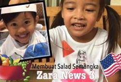Cara Memasak Zara News #3 | Resep Salad Semangka dari Chef Amerika | Reportase Lana Basri