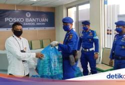 Dukung Nakes Tangani Corona, Polisi Aceh Antar Makanan Buka Puasa ke RS