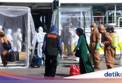 88 TKI dari Malaysia Tiba di Parepare, 10 Dipantau karena Suhu Tubuh Tinggi