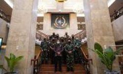 Jaksa Agung Terima KSAL TNI, Siap Koordinasi Kasus Pidana Pelayaran