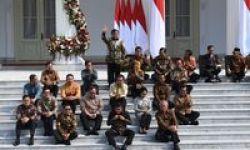 Sejarah Reshuffle Kabinet Presiden Jokowi di Periode 2014-2019