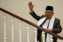 Hari Bhayangkara, Ma'ruf Amin Minta Polri Bimbing Masyarakat Menuju New Normal