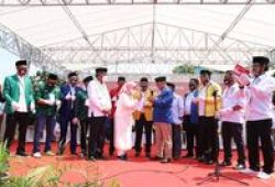 Deklarasi Maju Pilkada, Ratu Tatu-Pandji Gelar Doa Bersama