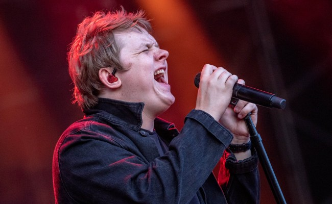 Lewis Capaldi Wets Himself On Stage In A New Low