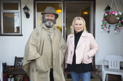 Jennifer Saunders and Michael Sheen on ITV's Memory Lane